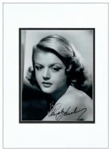 Angela Lansbury Autograph Signed Photo
